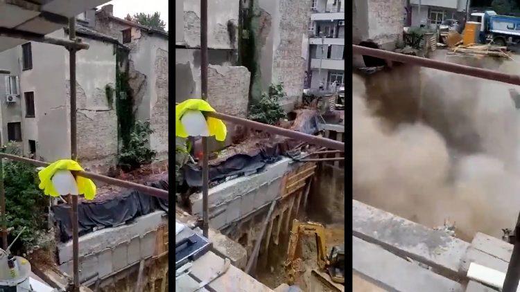 Urušavanje zgrade u Vidovdanskoj