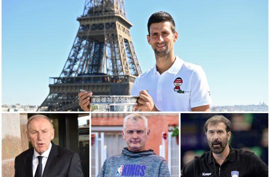 Novak Đoković, Novak Djoković, Dragan Džajić, Žarko Paspalj, Veselin Vujović