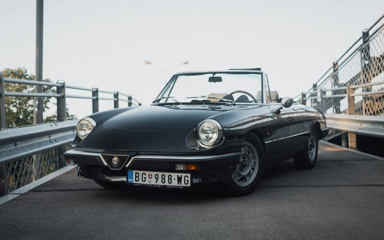 Alfa Romeo, kabriolet, oldtimer, oldtajmer, auto, automobil