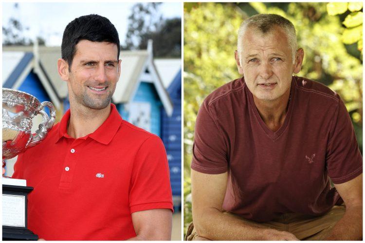 Novak Đoković, Novak Djoković, Žarko Paspalj