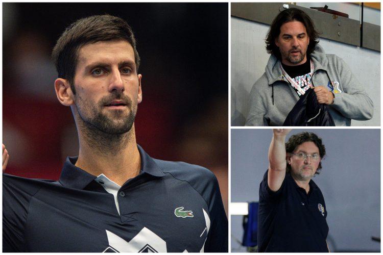 Novak Đoković, Novak Djoković, Jugoslav Vasović i Anto Vasović
