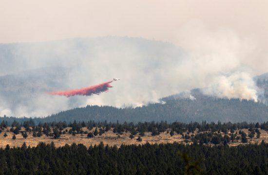 Oregon, požar
