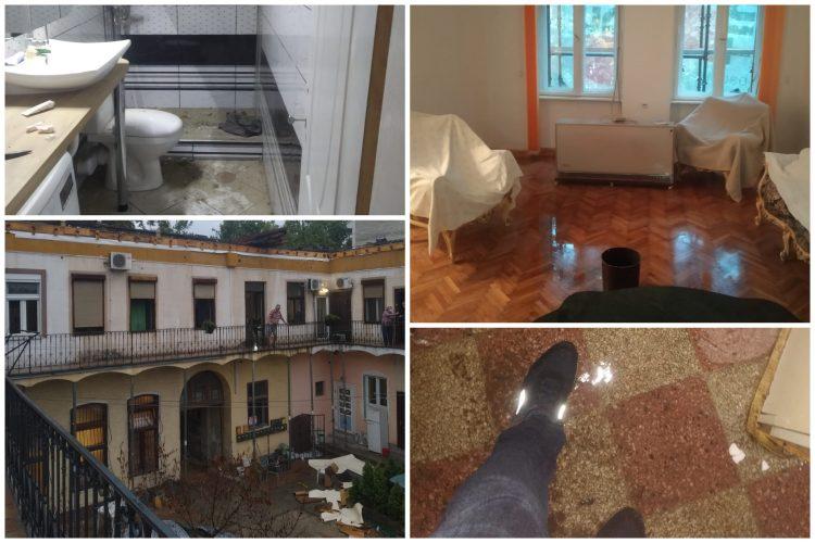 Novi Sad, poplava, nevreme, kiša, Jevrejska ulica