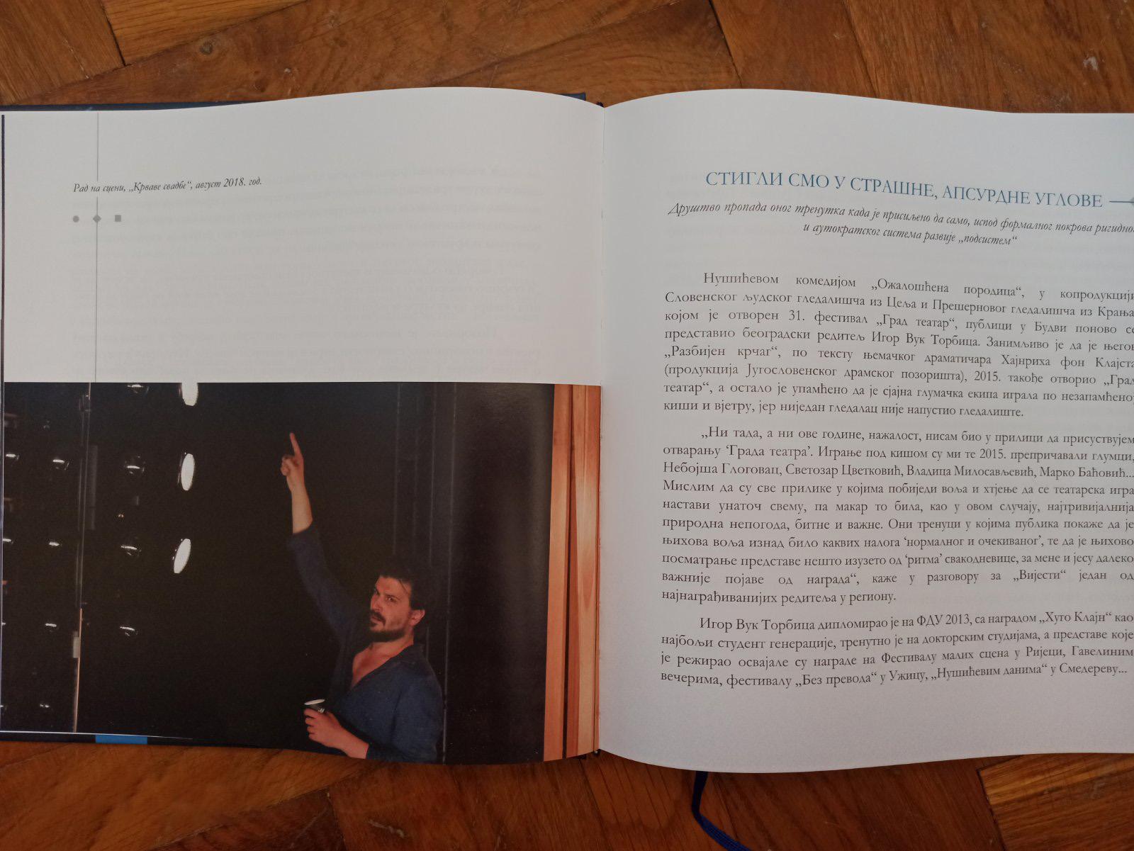 Monografija Glas vrline - Igor Vuk Torbica
