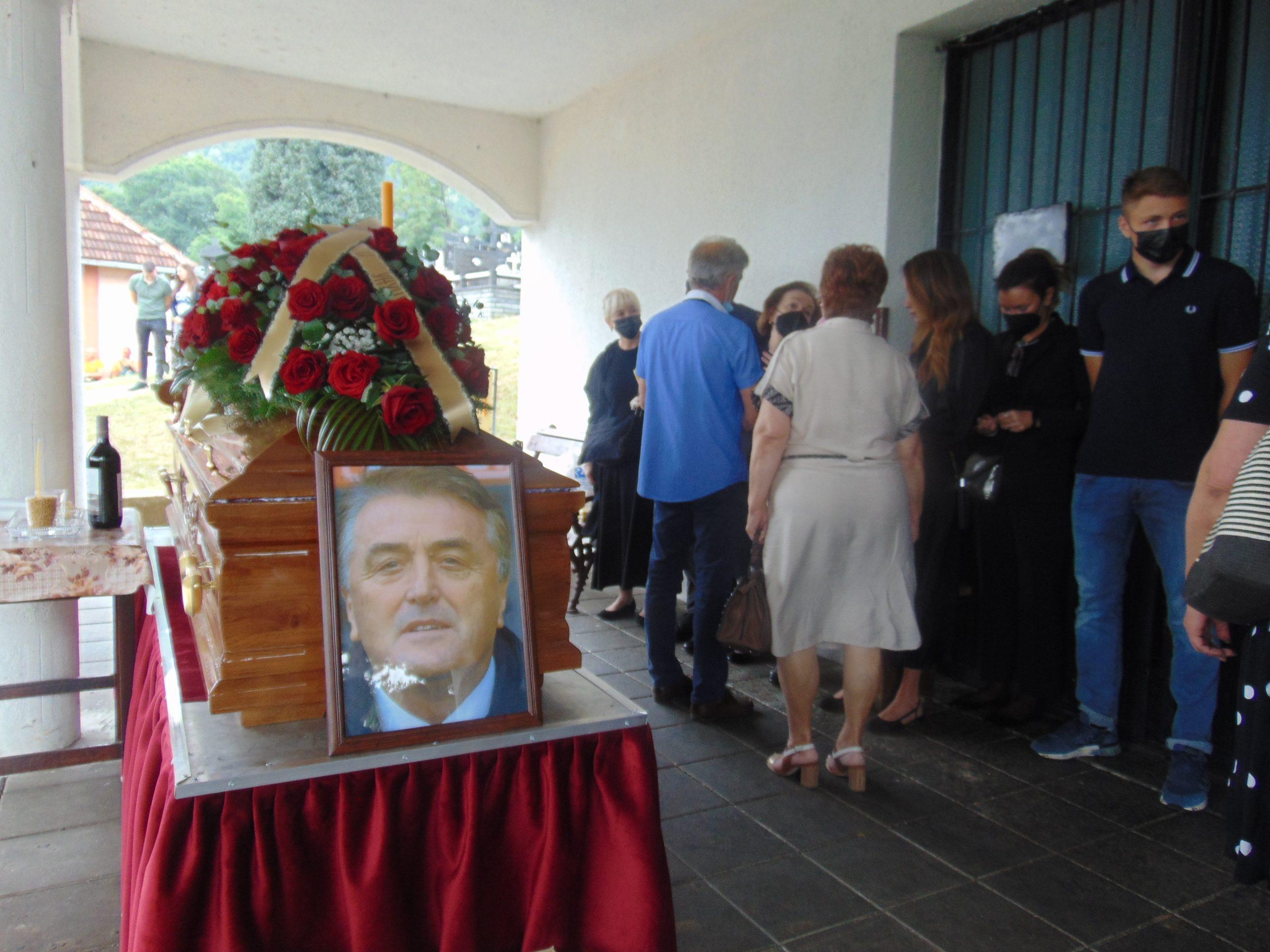 antićeva sahrana