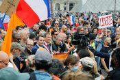 Francuska, protest, koronavirus, mere