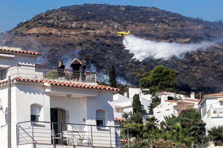 Španija, požar, gašenje požara