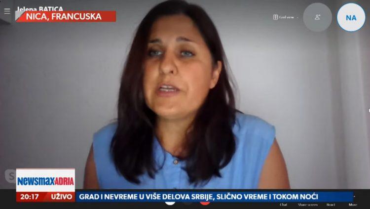 Jelena Batica, gost, emisija Pregled dana