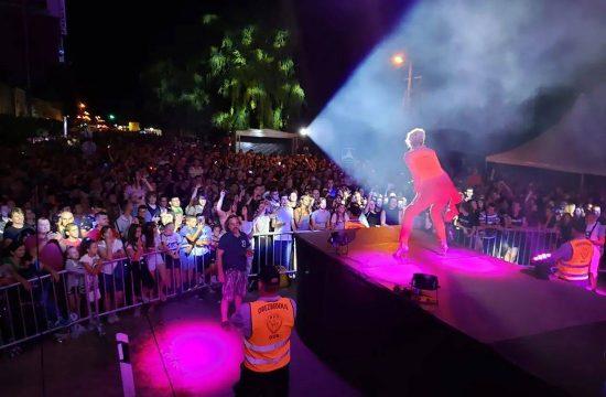 Lepa Brena, koncert Crvenka