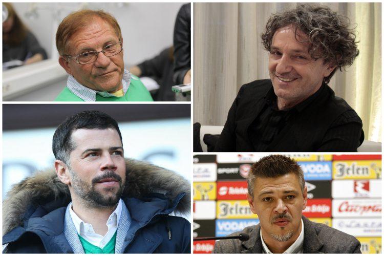 Miloš Bojanić, Goran Bregović, Mateja Kežman i Savo Milošević