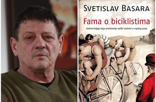 Svetislav Basara, Fama o biciklistima