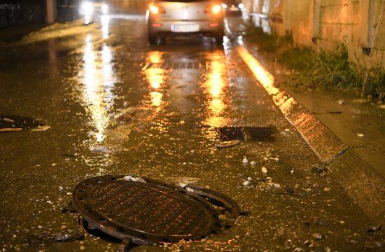 Beograd Naselje Vojvoda Vlahović, nevreme, kiša