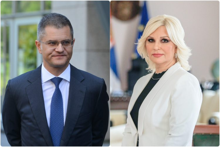 Vuk Jeremic i Zorana Mihajlovic