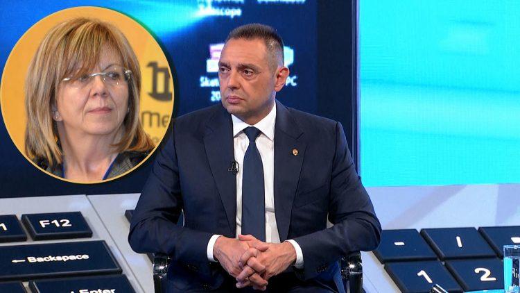 Judita Popovic i Aleksandar Vulin