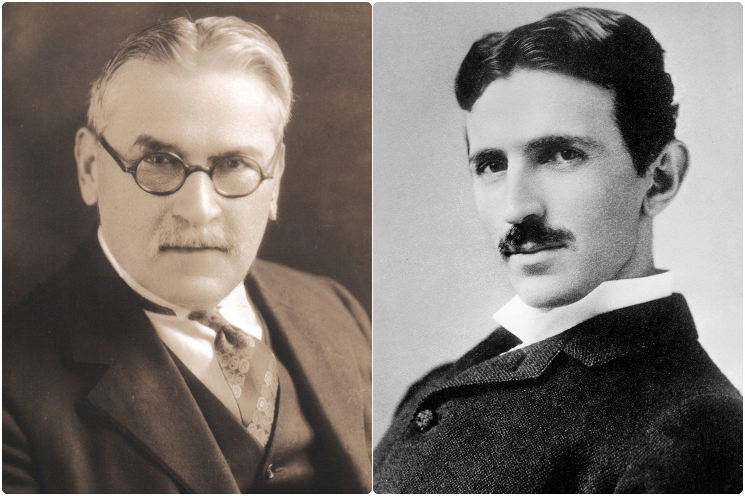Mihajlo Pupin i Nikola Tesla