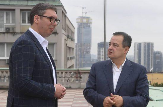 Aleksandar Vucic i Ivica Dacic