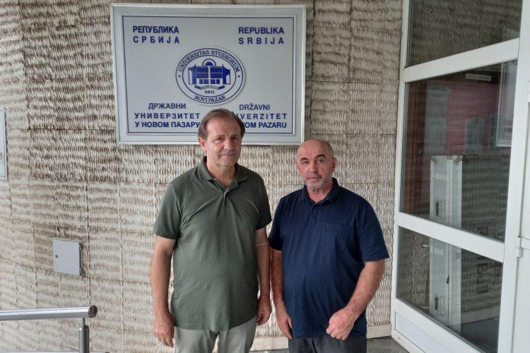 Profesori Mulić i Škrijelj - Foto Nova.rs