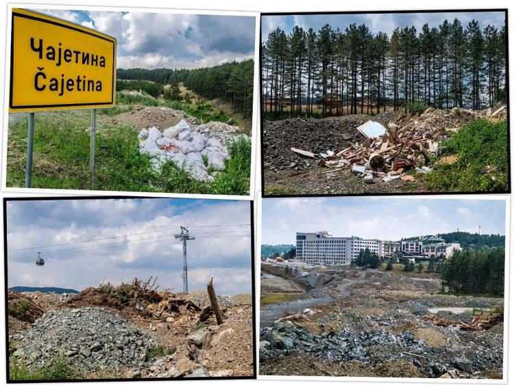 Deponije Zlatibor smece djubre ekologija zivotna sredina