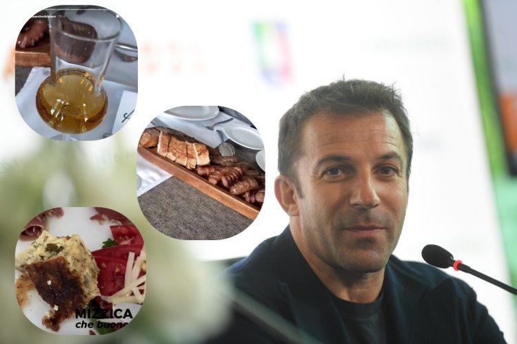alesandro del pjero u Beogradu na roštilju, rakiji i ispred Hrama
