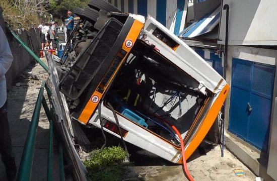 Italija Kapri nesrec autobus
