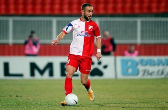 Nemanja Čović je pogodio gol za pobedu Vojvodine protiv Panevežisa