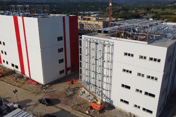 Izgradnja kovid bolnice u novosadskom naselju Miseluk