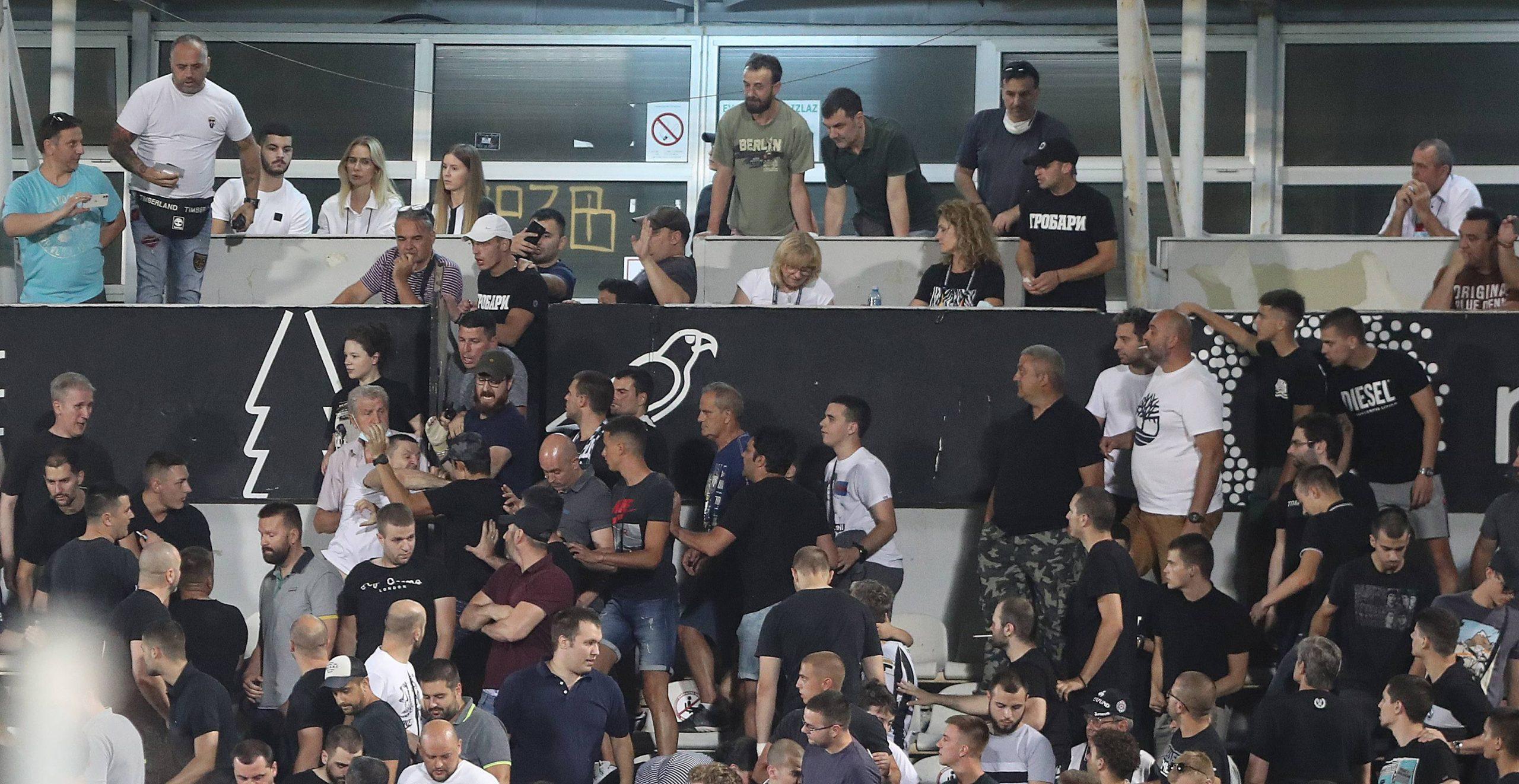 Partizan vs Dunajska Streda