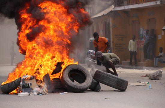 Haiti kriza protest