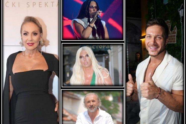 Dino Merlin, Lepa Brena, Sasa Kovacevic, Senidah, Jelena Karleusa