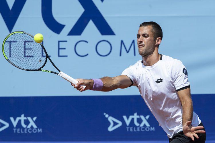 Laslo Đere na turniru u Gštadu