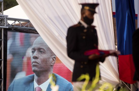Sahrana predsednika Haitija Zovnela Moiza