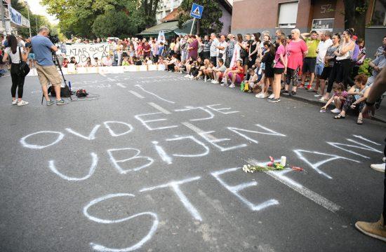 Karaburma protest decak Stefan