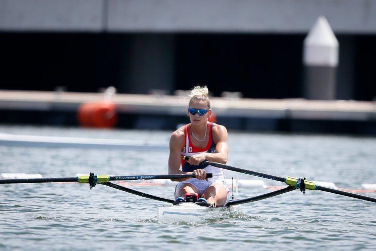 Jovana Arsić veslanje