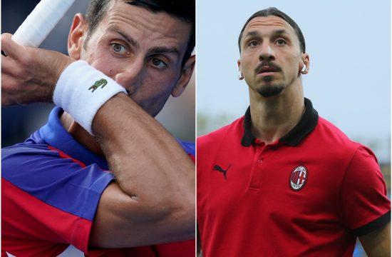 Novak Đoković i Zlatan Ibrahimović