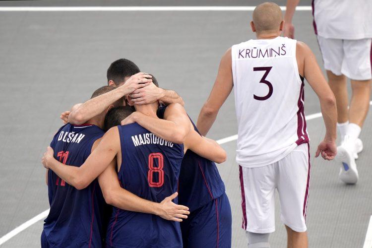 Basket 3x3 Srbija Basketaška reprezentacija Srbije Bulut Majstorović Vasić Ratkovica