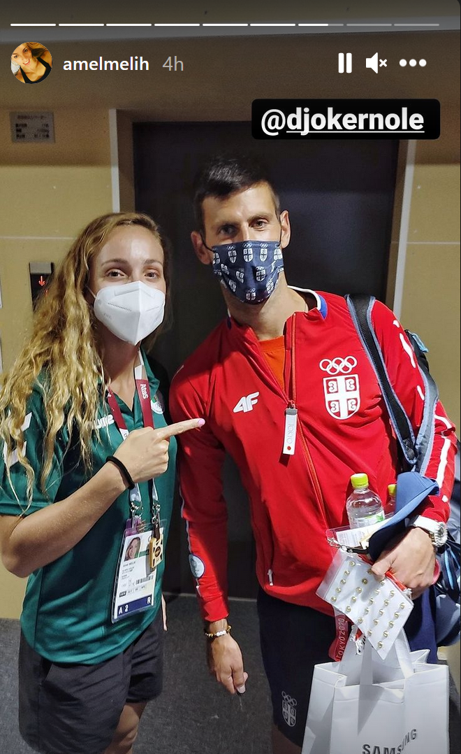 Novak Đoković i Amel Melih