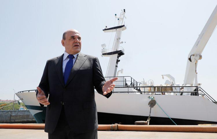 Ruski premijer Mihail Misustin posetio je Kurilska ostrva