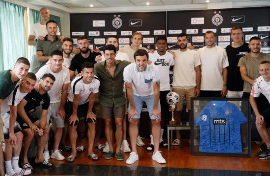 Vladimir Stojković zaplakao oproštaj od Partizana