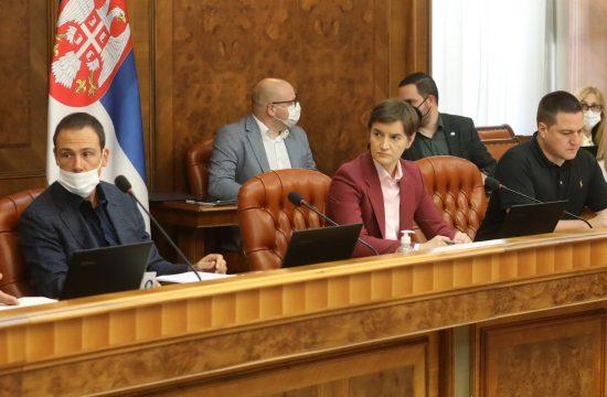 Sednica Vlade Srbije Branislav Nedimovic, Novak Nedic, Ana Brnabic i Branko Ruzic