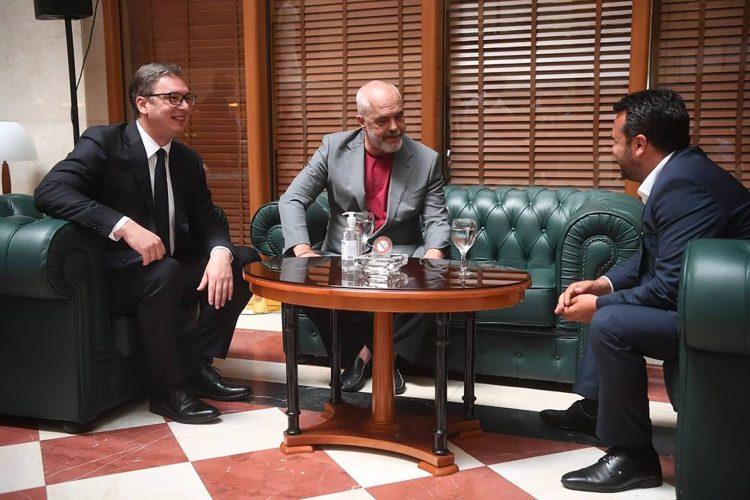 Aleksandar Vucic, Edi Rama i Zoran Zaev