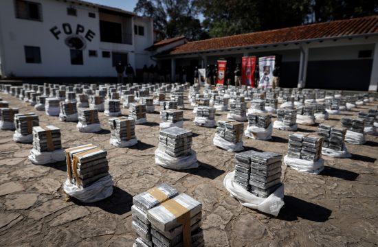 Paragvaj zaplena kokain