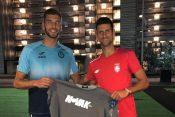 Srdjan Vuksanovic i Novak Djokovic
