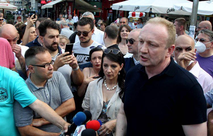Dragan Djilas Marinika Tepic Nis