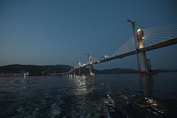 Peljeski most Brijesta