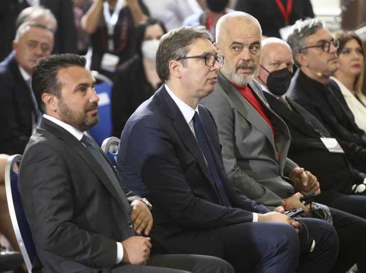Zoran Zaev, Aleksandar Vucic i Edi Rama