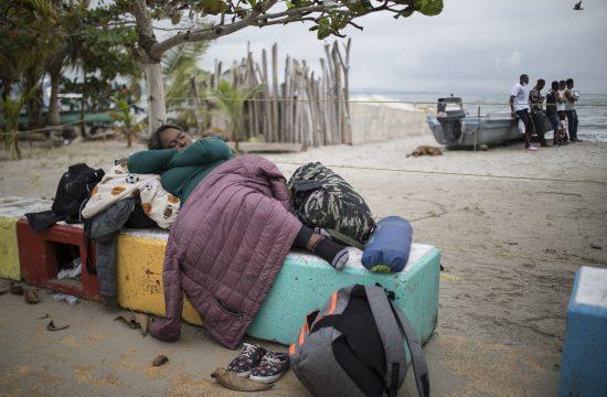 Kolumbija, migranti