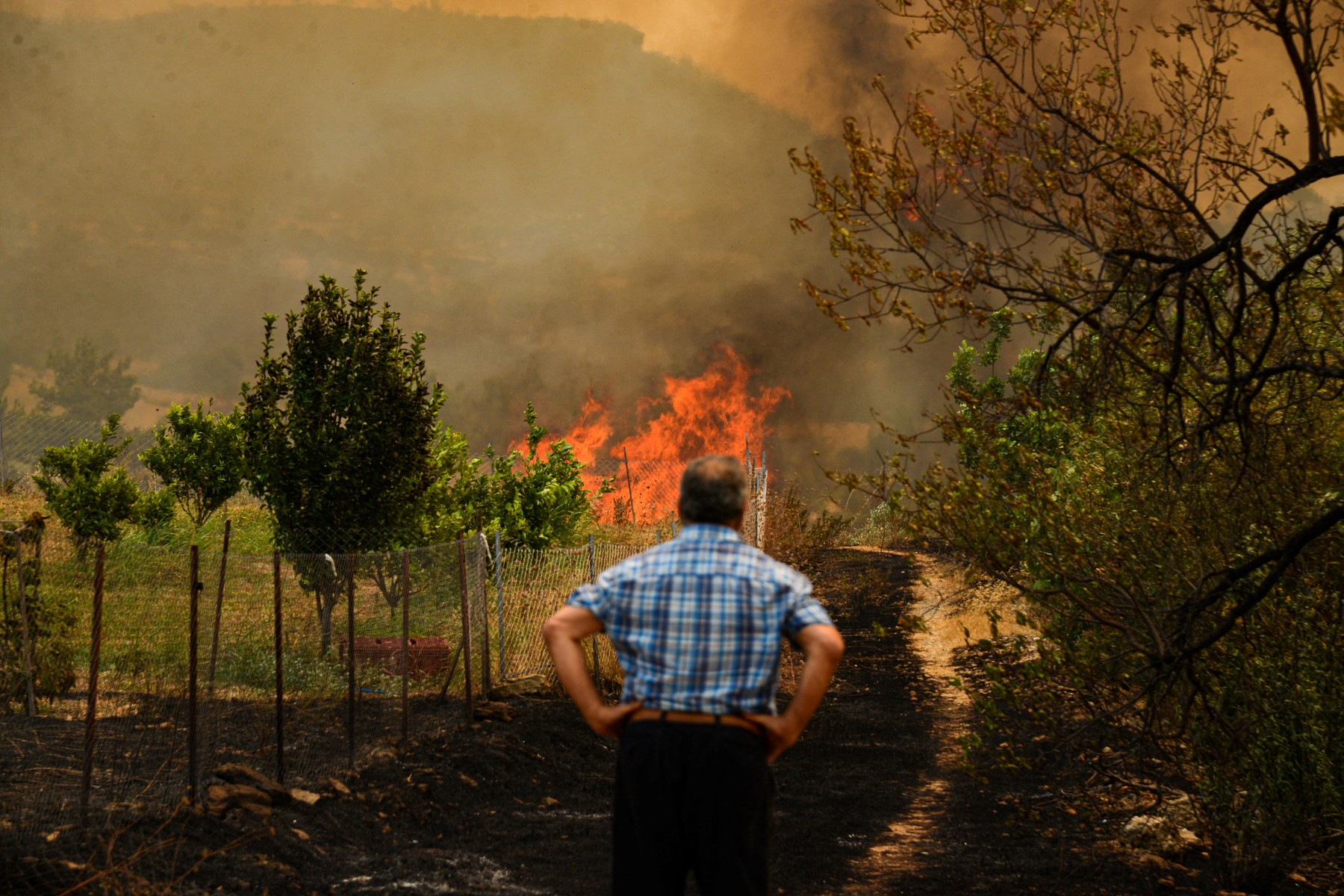 Požar Turska
