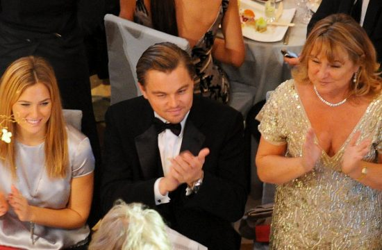 Leonardo Dikaprijo sa majkom Irmelin Indenbirken