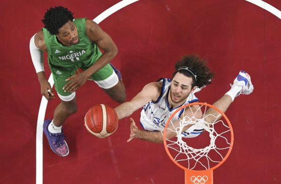 Košarkaška reprezentacija Italije, Nigerije