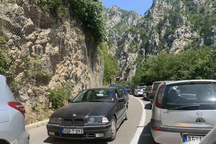 Crna Gora Srbije granicni prelaz Gostun Saobracajna guzva